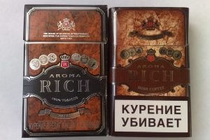 Сигареты Aroma Rich Irish Coffee