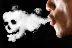 Вред табачного дыма во время диеты
