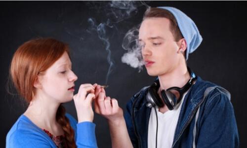 Проблема курения марихуаны