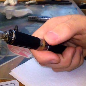 Нет пароиспарения электронной сигареты