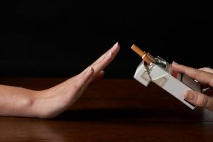 Облегчение отказа от курения при помощи спреев