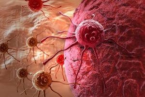Развитие рака под действием никотина