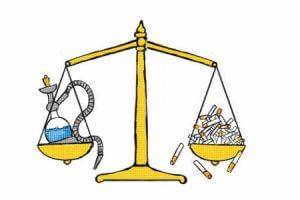 Равноценность вреда курения кальяна и сигарет