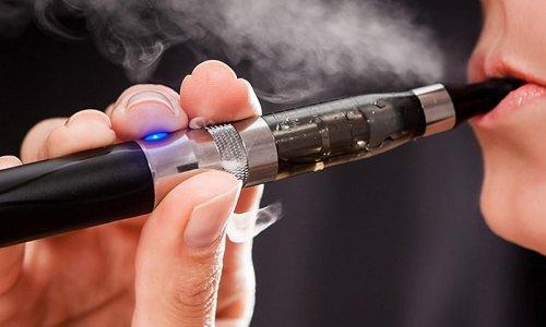 Парение электронной сигареты