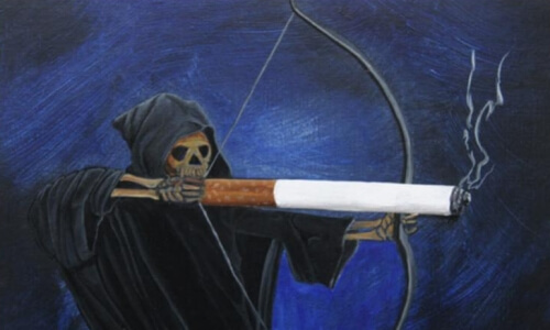Срок жизни заядлого курильщика