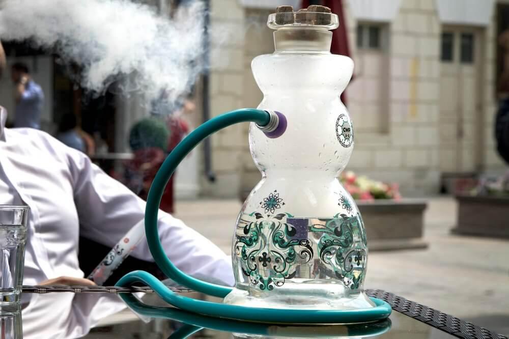 Как сделать цветной дым в кальяне