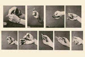 Способы держать сигарету
