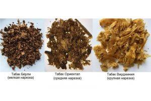 Виды табака для кальянов