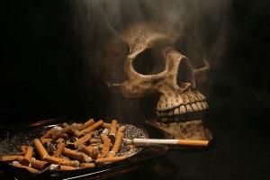 Курение - причина появление мокроты
