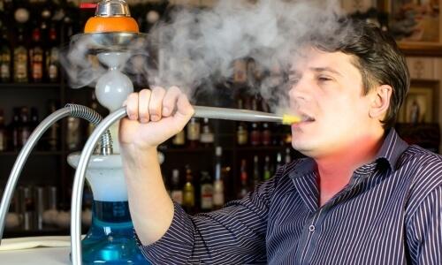 Боль в горле при курении кальяна