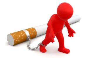 Быстрое появление зависимости от сигарет