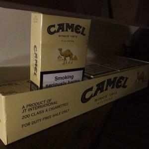 Сигареты марки Кэмел