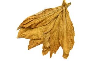 Сушеные табачные листья